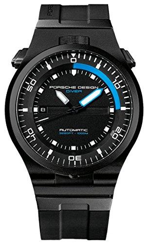 Porsche Design Leistung Diver Automatische schwarz PVD Titan Kalender 6780 45 43 1218