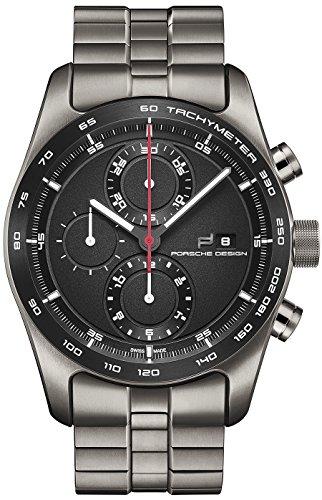 Porsche Design Chronotimer Series 1 Automatik Uhr Poliertes Titan Schwarz 6010 1 09 001 04 2