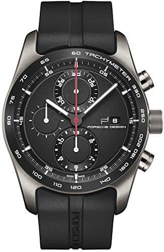 Porsche Design Chronotimer Series 1 Automatik Uhr Poliertes Titan Schwarz 6010 1 09 001 05 2