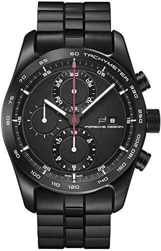 Porsche Design Chronotimer Series 1 Automatik Uhr Titan Titan Schwarz