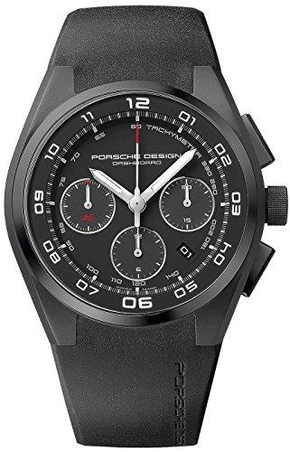 Porsche Design Dashboard Automatik Uhr Chronograph Titan 6620 13 46 1238