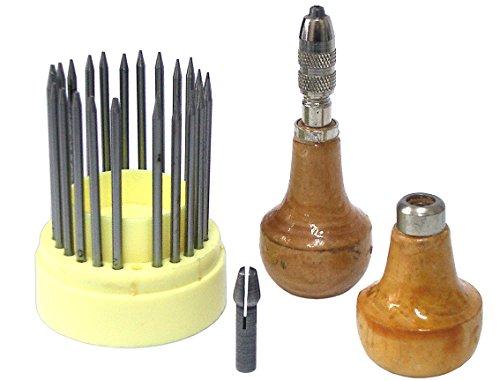 26 PCS Pusher die aufreihmaterialien Stone Einstellung Bead Werkzeug Euro 0379
