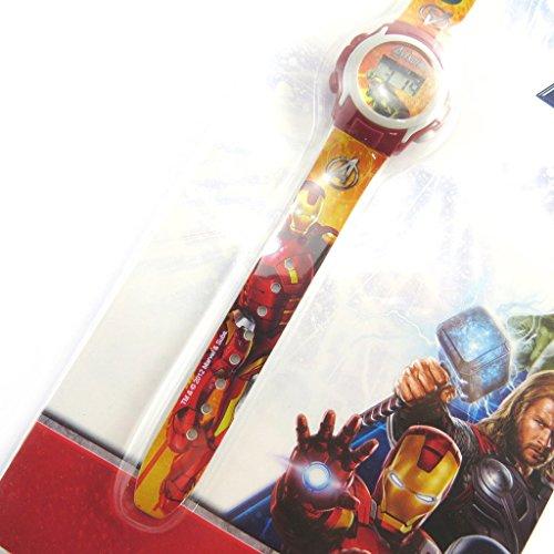 Digitale armbanduhr Avengerseisenmann