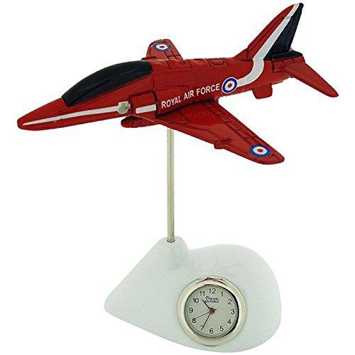 The Emporium Miniatur Clocks RAF162 Uhr Metall Armband Rot