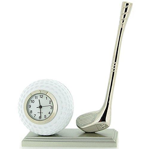 The Emporium Miniature Clocks 0370 Armbanduhr Armband aus Metall Farbe Beige