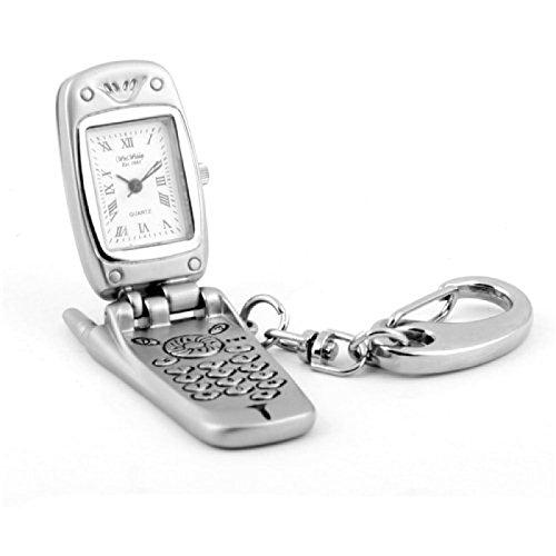 The Emporium Miniature Clocks 5770343 Armbanduhr Armband aus Metall Farbe Silber