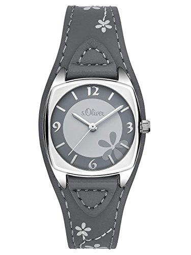 s Oliver Damen Armbanduhr Analog Quarz Leder SO 3184 LQ