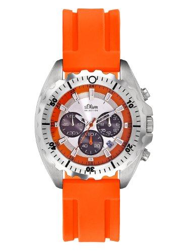 s Oliver Herren Uhren Chronograph Quarz SO 2084 PC