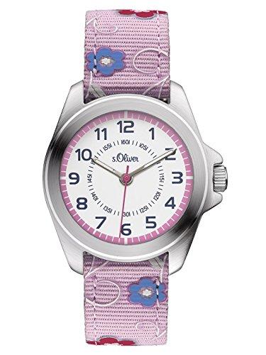 s Oliver Maedchen Armbanduhr Analog Quarz Textil SO 3175 LQ