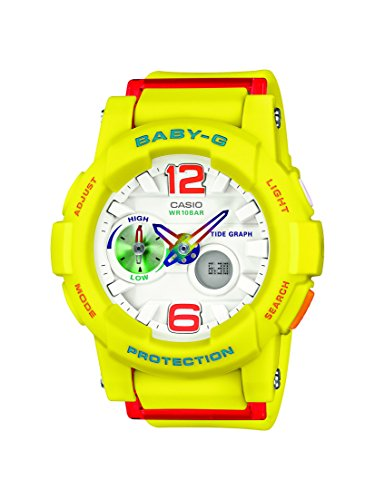 Casio Baby G Analog Digital Quarz Resin BGA 180 9BER