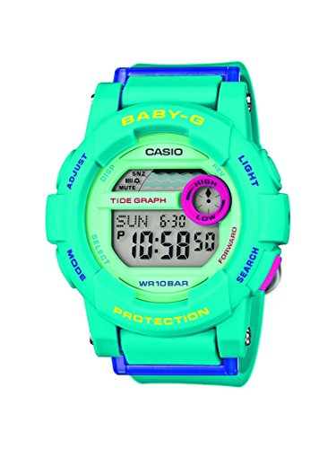 Casio Digital mit Resinarmband BGD 180FB 2ER