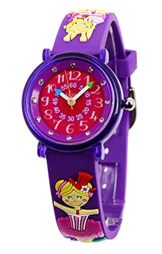 Baby Watch Maedchen Armbanduhr Montre ZAP Trapeziste Quarz Mehrfarbig 3700230606153