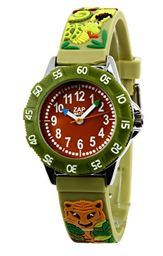 Baby Watch Jungen Armbanduhr Montre ZAP Jungle Quarz Gruen 3700230606139