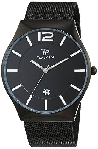 Time Piece Classic Analog Quarz Edelstahl beschichtet TPGS 30317 21M