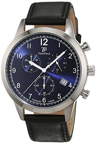 Time Piece Titan Chronograph Quarz Leder TPGT 50342 32L