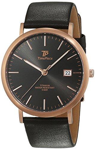 Time Piece Titan Analog Quarz Leder TPGT 50343 51L