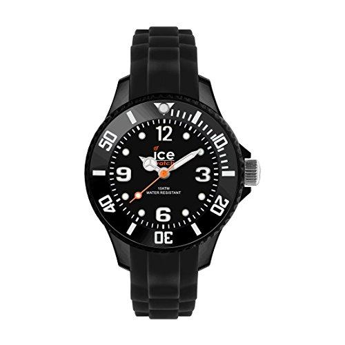Ice Watch ICE forever Black Schwarze mit Silikonarmband 000133 Medium