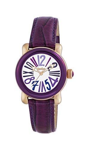 Pocket Damen Armbanduhr Analog Quarz Leder PK1000