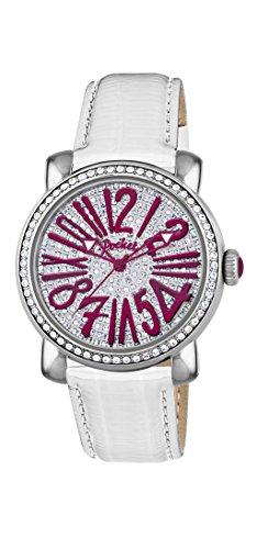 Pocket Damen Armbanduhr Analog Quarz Leder PK2028