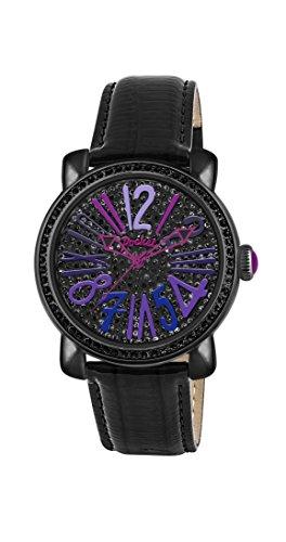 Pocket Damen Armbanduhr Analog Quarz Leder PK2034