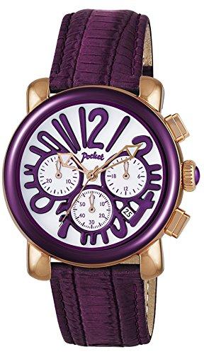 Pocket Damen Armbanduhr Chronograph Quarz PK2060