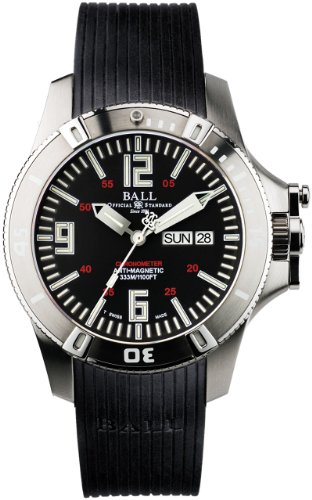 Ball Engineer Hydrocarbon Spacemaster Glow Uhr COSC DM2036A PCA BK