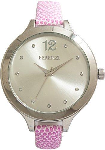 ferenzi Armband Rosa und Gehaeuse Silber fz14201