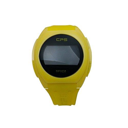 Uhr CP5 gelb Digital