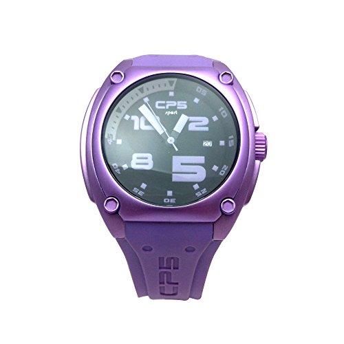 Uhr CP5 Kautschuk violett