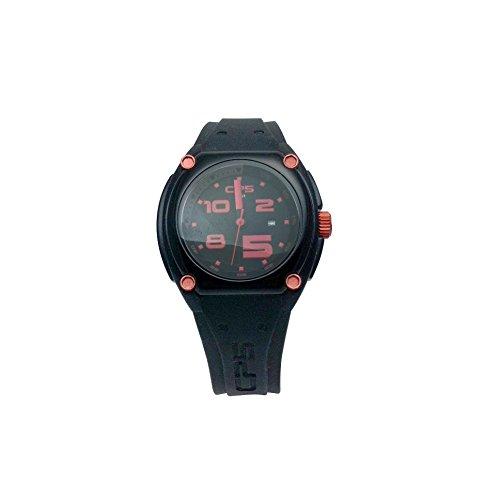 Uhr CP5 schwarz und rot