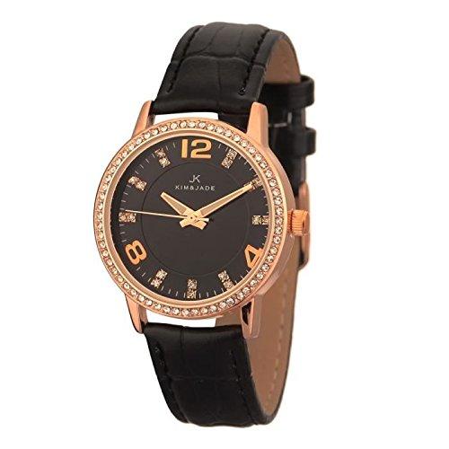 Keine Armbanduhr Kim Jade mit Swarovski Kristallen 2031lgpblbl Damen