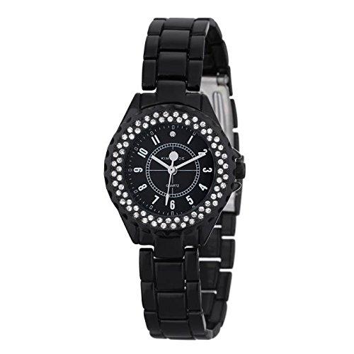 Keine Armbanduhr Kim Jade mit Swarovski Kristallen 2033lbb Damen