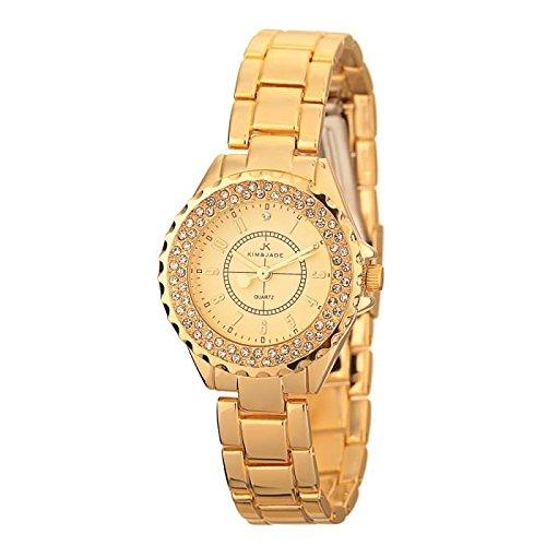 Keine Armbanduhr Kim Jade mit Swarovski Kristallen 2033lgg Damen