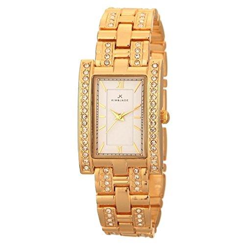 Keine Armbanduhr Kim Jade mit Swarovski Kristallen 2060lgw Damen