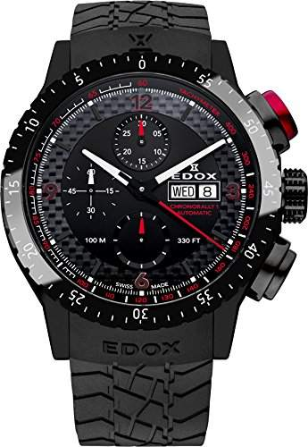 Edox Chronorally 1 Automatik Chronograph 01118 37NR NRO