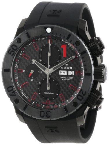 Edox 01114 37N NRO Class 1 Automatik Chronograph Black PVD