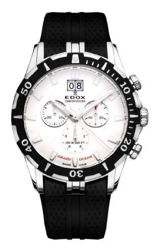 Edox Grand Ocean Chronodiver Big Date 10022 3 AIN