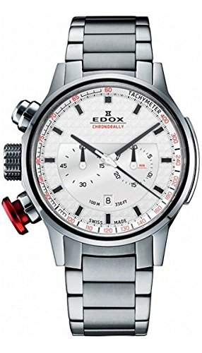 Edox Chronorally Chronograph Herrenuhr 10302 3M AIN