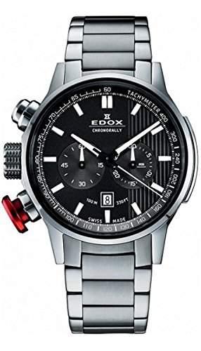 Edox Chronorally Chronograph Herrenuhr 10302 3M GIN