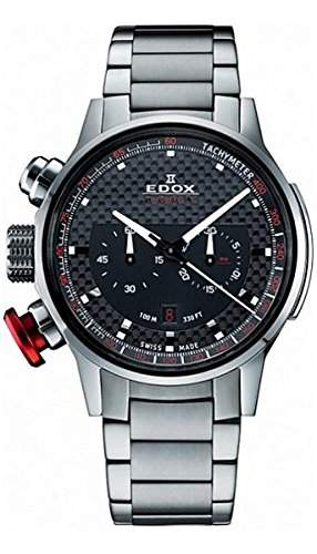 Edox Chronorally Chronograph Herrenuhr 10302 3M NIN2