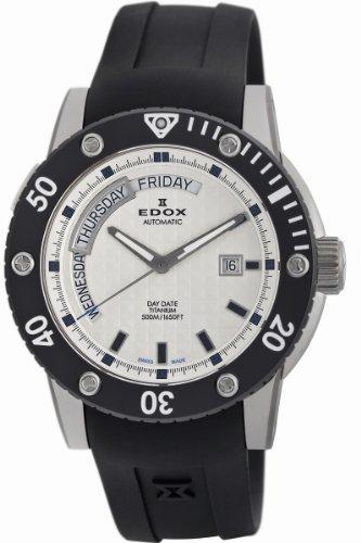 Edox Mens 83005 TIN AIN Class 1 Day Automatic Rotating Bezel Watch