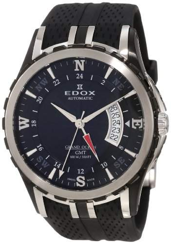 Edox Grand Ocean GMT Automatic 93004 357N NIN