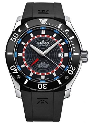 Edox Class-1 GMT Worldtimer Automatik 93005 3 NBUR
