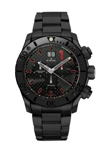 Edox Class 1 Chronoffshore Chronograph Big Date Diver 10021 37N NRO