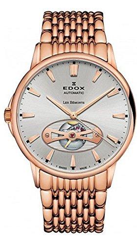 Edox Les Bemonts Herr uhren 8502137RMAIR