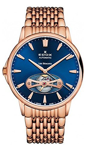 Edox Les Bemonts Herr uhren 8502137RMBUIR