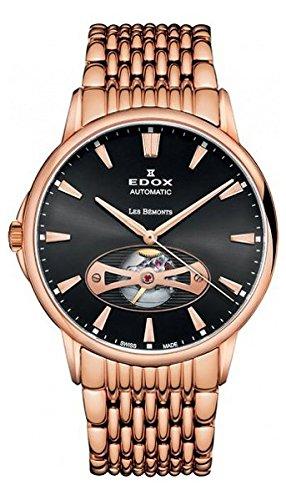 Edox Les Bemonts Herr uhren 8502137RMNIR