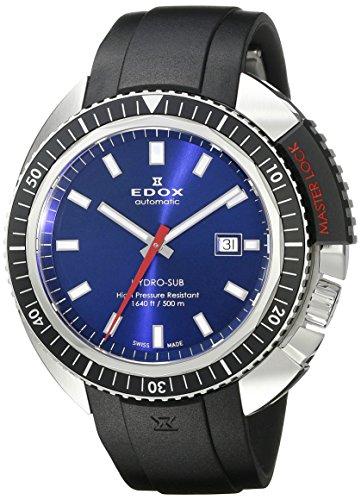 EDOX Hydro Sub Automatic Herr uhren 803013NCABUIN