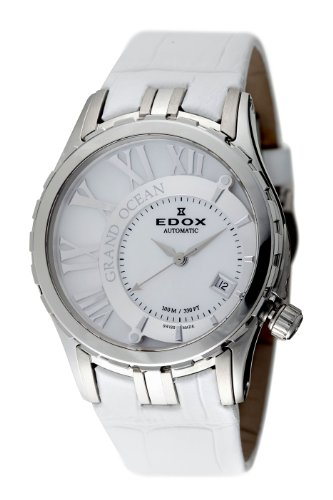 Edox Womens 37008 3 NAIN Automatic Date Grand Ocean Uhr
