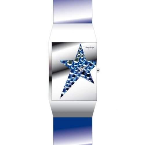 Thierry Mugler Damen-Armbanduhr Analog Quarz Leder 4700511